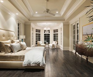 luxury, bed, and bedroom image