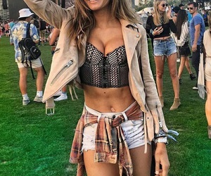 coachella and outfit image