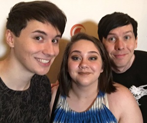youtube, amazingphil, and dan and phil image