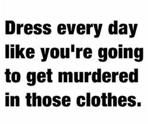 text, dress, and quote image