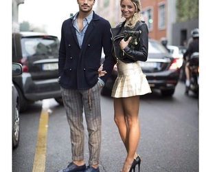 couple, fashion, and model image