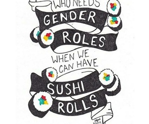feminism and gender roles image