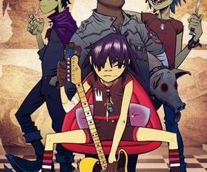 2d, art, and band image