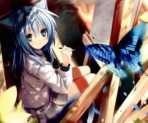 draw, kawaii, and manga image