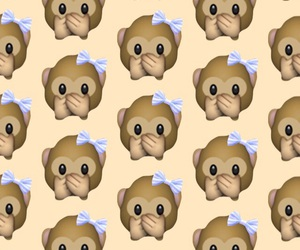 iphone, wallpaper, and monkey image