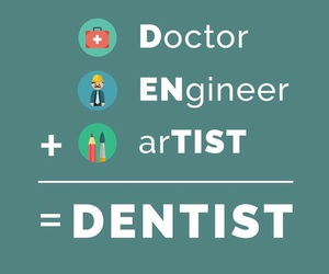 dentist and study image