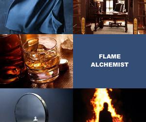 fullmetal alchemist, fma, and roy mustang image