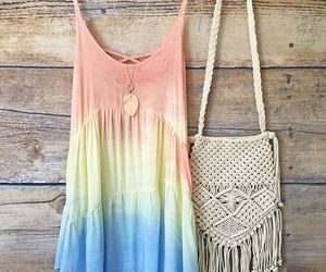 boho, outfit, and summer image