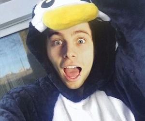 5sos, penguin, and luke hemmings image