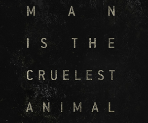 animal, cruel, and quote image