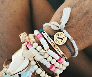 summer, bracelet, and accessories image