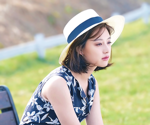 actress, kim jiwon, and dots image