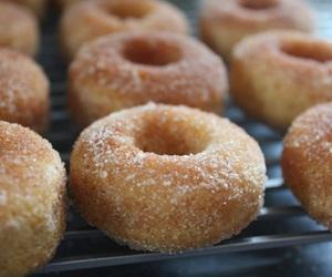 donuts, doughnuts, and cinnamon sugar image