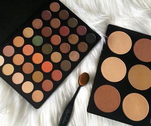 makeup, girl, and glamour image