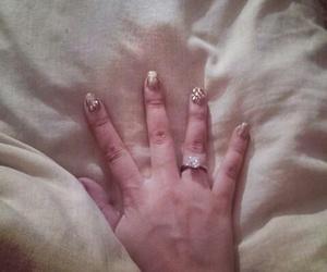 couple, anillos, and girl image
