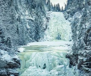 ice, landscape, and nature image