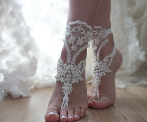 etsy, beach wedding, and women shoes image