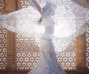 dress, dance, and white image