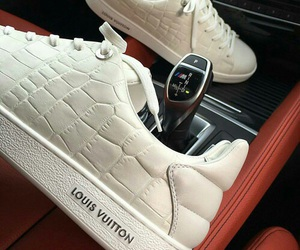 fashion, Louis Vuitton, and sneakers image