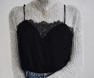 accessories, clothes, and sweater image