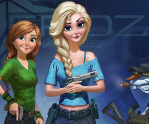 anna, blond, and frozen image