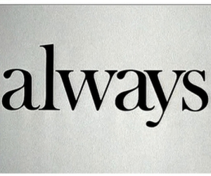 always, texto, and sempre image
