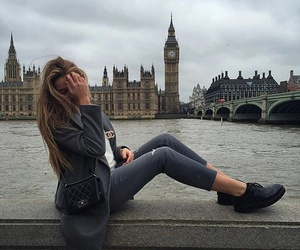 girl, fashion, and london image
