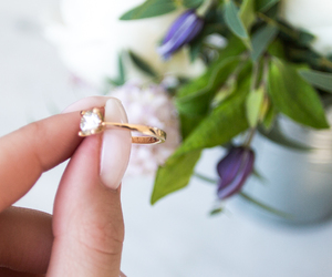 accessory, beauty, and engagement image
