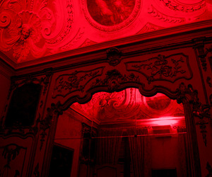 alternative, room, and red aesthetic image