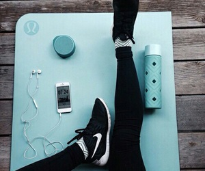 nike, fitness, and workout image