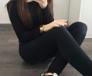 black, adidas, and style image