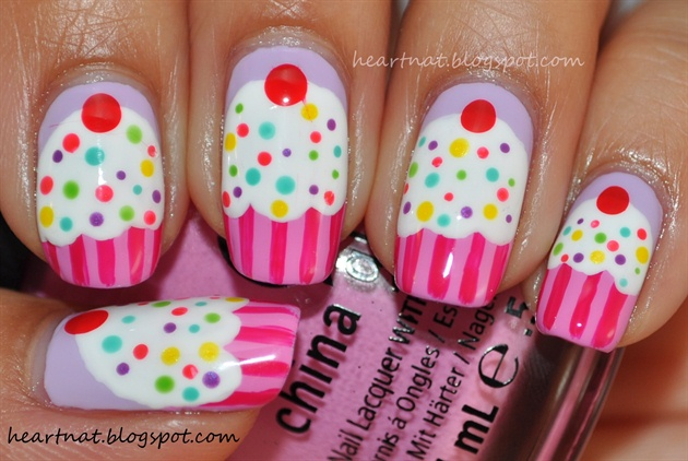 - Nail Art Gallery - Cupcake Nails On We Heart It