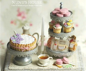 sweet, cake, and cupcakes image