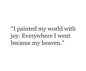 quote, heaven, and joy image