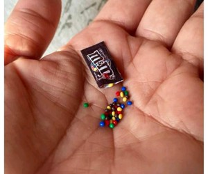 miniature, m&m's, and food image