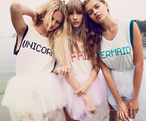 friendship, girls, and model image