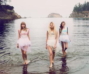 fairytale, fashion, and lake image