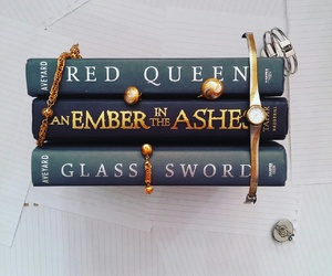 books and red queen image