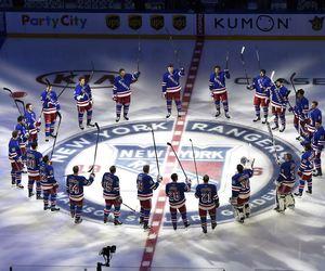 Ice Hockey and ny rangers image