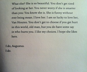 love, book, and the fault in our stars image