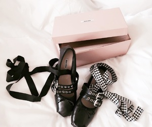 fashion, miu miu, and shoes image