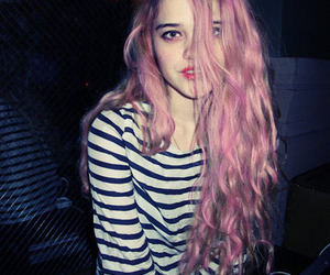 grunge, sky ferreira, and hair image