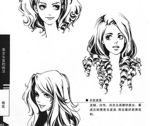 hair, hairs, and how to draw image