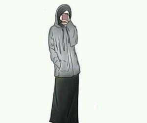 hijab islam allah deen image