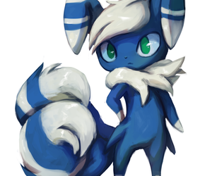 pokemon and meowstic image