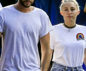miley, liam, and miley & liam image