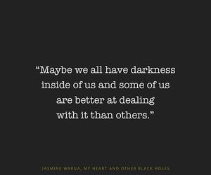 book, Darkness, and heart image