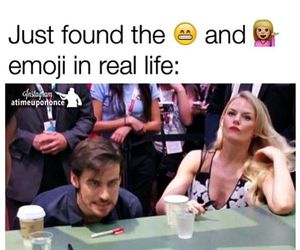 once upon a time, hook, and emma image