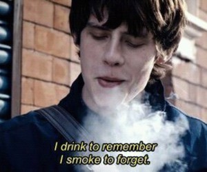 smoke, jake bugg, and drink image