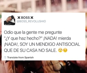 antisocial, twitter, and frases en español image